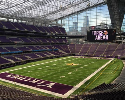 US Bank stadium, Minneapolis - Super Bowl LII