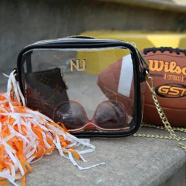 GAMEDAY AND FASHION CLEAR HANDBAGS AND ACCESSORIES