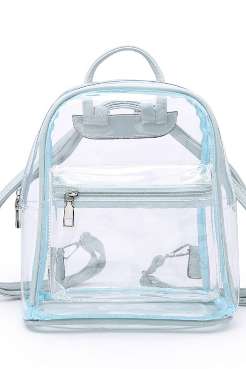 THE LEGACY CLEAR CROSSBODY 2 IN 1 BAG - 2 COLORS - The Beauty QB